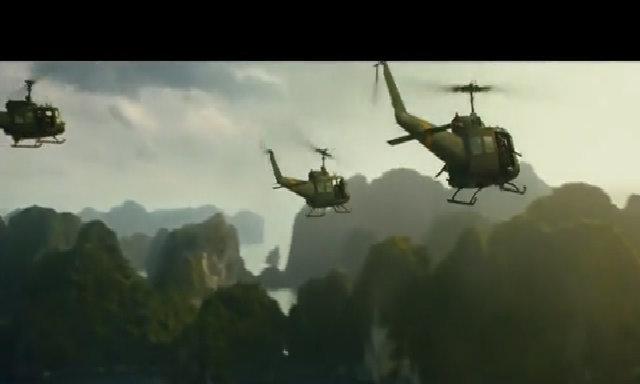 Lính Mỹ lội vịnh Hạ Long săn King Kong trong bom tấn mới