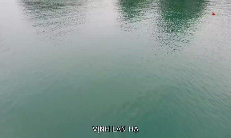 Vịnh Lan Hạ - 'đảo ngọc' ở Cát Bà
