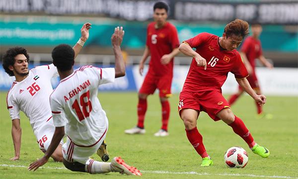 Vietnam vs UAE: the goals