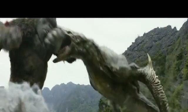Clip trận đại chiến Kong