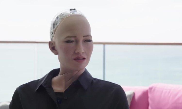 Sophia chuyện trò với Will Smith