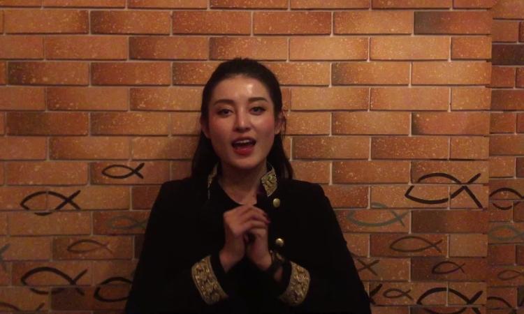 Huyền My chúc Tết độc giả iOne