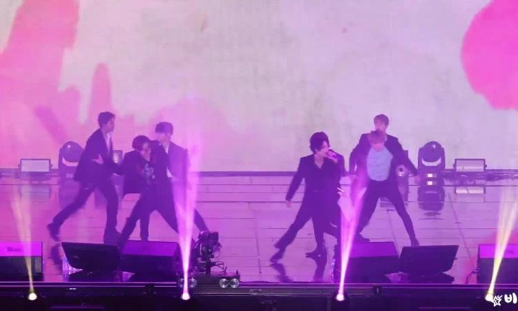 Sân khấu 'Boy With Luv' của BTS tại Lotte Family Concert