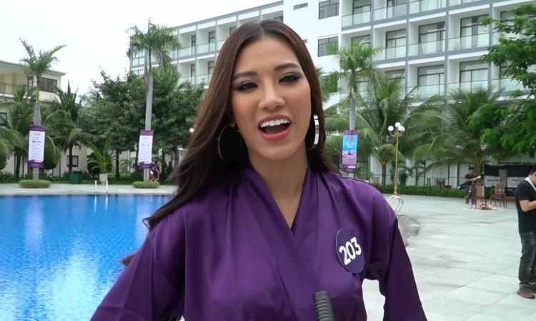 Thí sinh Hoa hậu Hoàn vũ nhịn đói