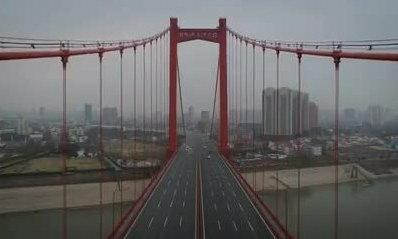'Thành phố ma' Vũ Hán quay từ drone