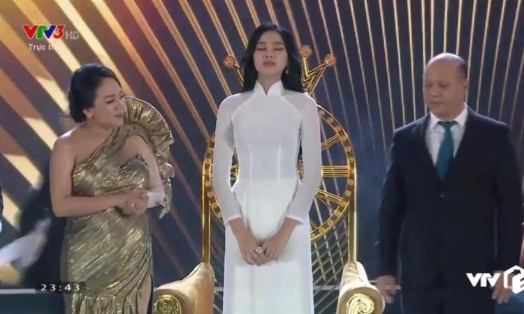 Khoảnh khắc đăng quang của Hoa hậu Đỗ Thị Hà