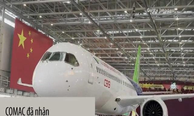 Máy bay 'made in China' sắp cất cánh lần đầu