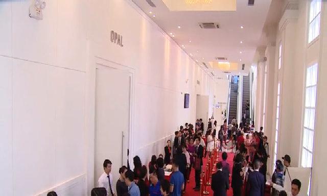 800 khách tham dự lễ mở bán căn hộ tòa nhà The Grande