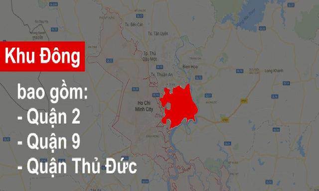Khu đông khởi nguồn cơn sốt đất tại Sài Gòn