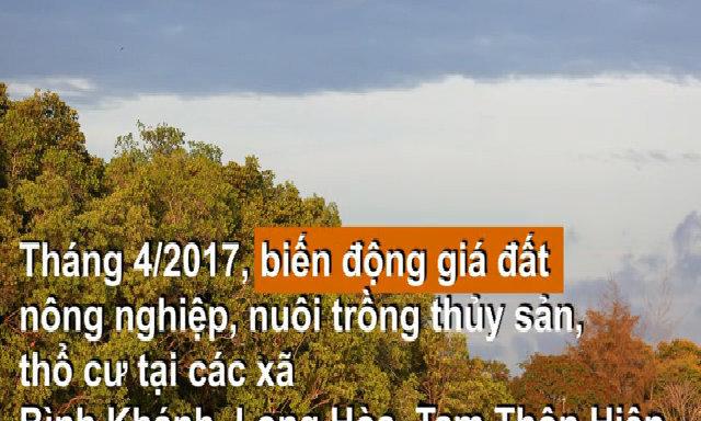Huyện Cần Giờ cũng gia nhập cơn sốt đất tại TP HCM