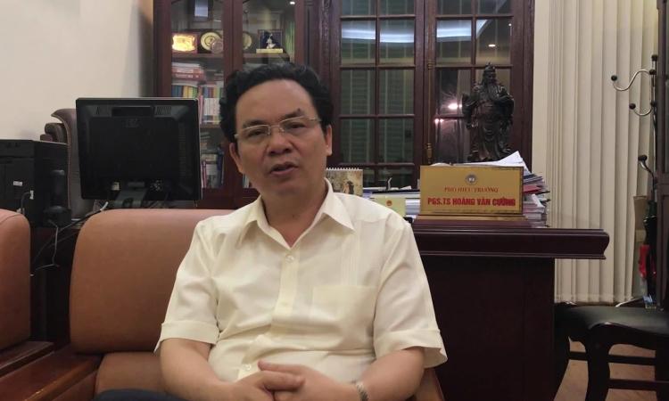 Ông Hoàng Văn Cường nói về vai trò đầu tàu kinh tế Hà Nội