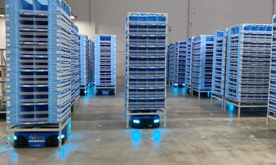 Tiki ứng dụng robot tự động vào logistics - VnExpress Kinh doanh