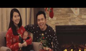 Vợ chồng Miss Teen Huyền Trang hát tặng con trai