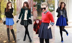 20 bí quyết diện đẹp váy xòe mùa đông
