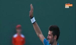 Novak Djokovic 2-0 Joao Sousa