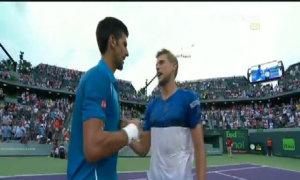 Djokovic 2-0 Dominic Thiem