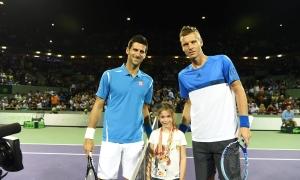 Novak Djokovic 2-0 Tomas Berdych