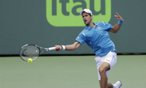 Novak Djokovic 2-0 David Goffin
