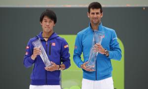 Djokovic 2-0 Kei Nishikori