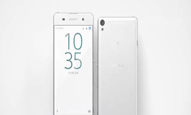 Thiết kế viền siêu mỏng của Sony Xperia XA