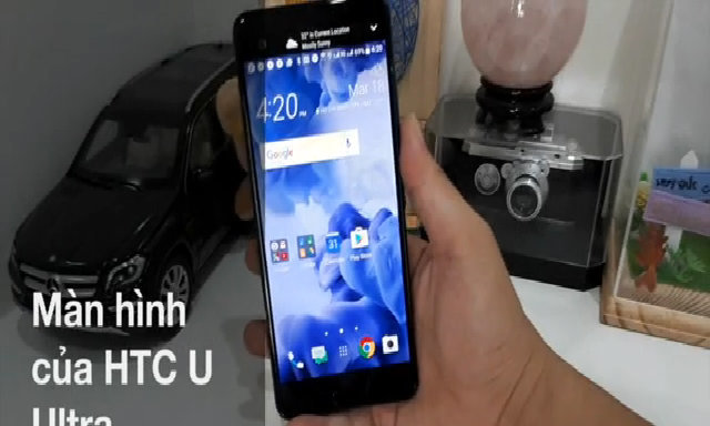 Đánh giá màn hình HTC U Ultra