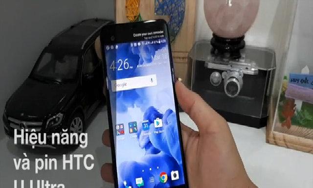 Hiệu năng và pin của HTC U Ultra