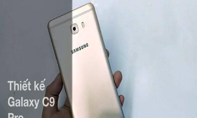 Galaxy C9 Pro phablet pin khủng hiệu năng tốt