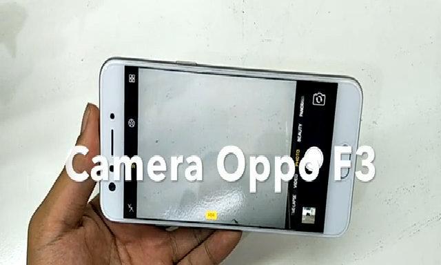 Camera Oppo F3