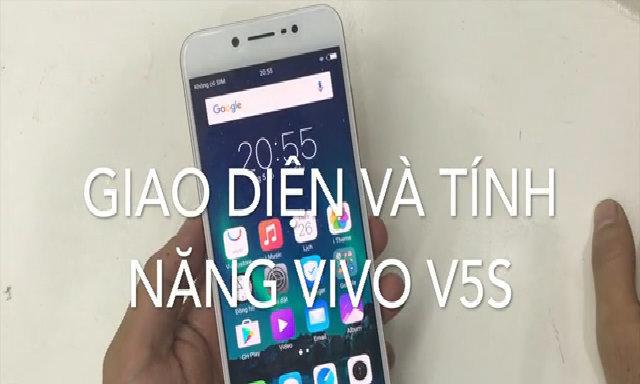 Giao diện và tính năng Vivo V5s