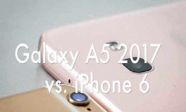 So sánh camera Galaxy A5 2017 và iPhone 6 32GB