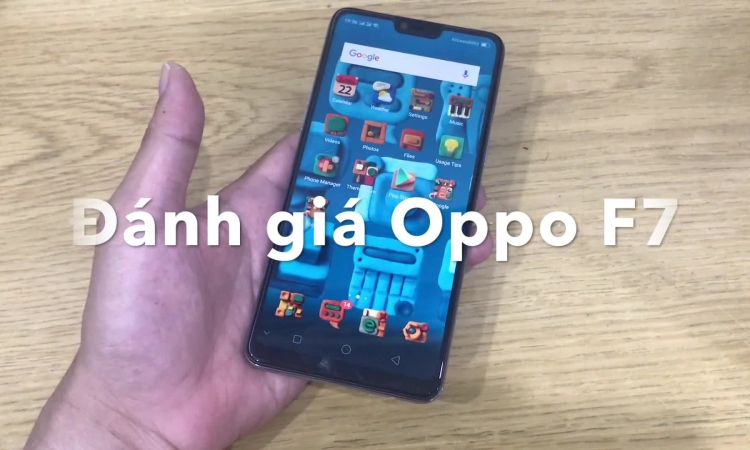 Oppo F7 lợi hại ở AI