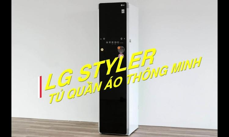 Styler - tủ chăm sóc quần áo thông minh đầu tiên ở Việt Nam