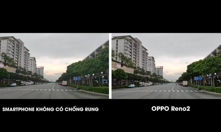 Khả năng quay video chống rung trên Oppo Reno2 2