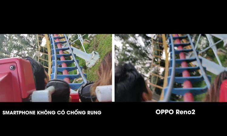 Khả năng quay video chống rung trên Oppo Reno2 7