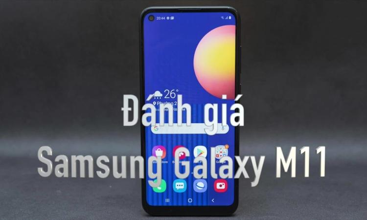 Đánh giá Samsung Galalaxy M11