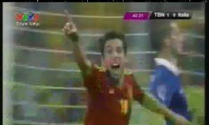 Clip tổng hợp trận chung kết Tây Ban Nha - Italy