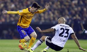 Valencia 1-1 Barca