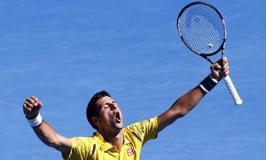 Djokovic 3-2 Gilles Simon