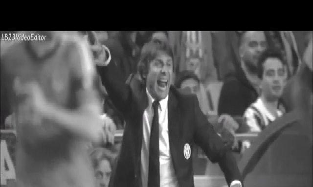 Conte la hét bên ngoài đường biên