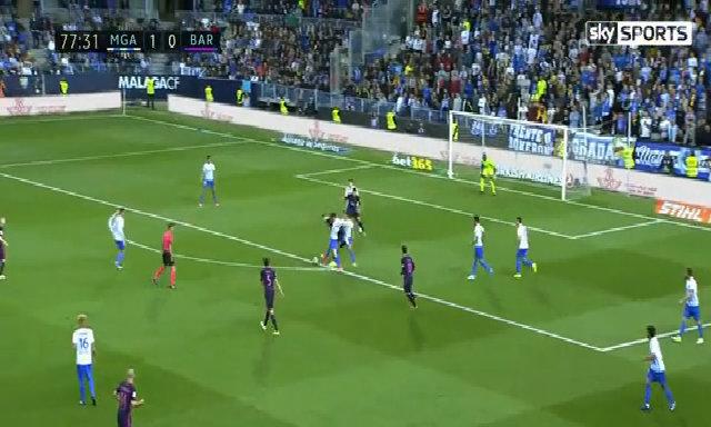 Malaga 2-0 Barcelona số 4
