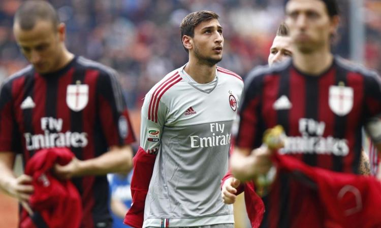 Donnarumma trình làng ở Serie A trong trận Milan - Sassuolo