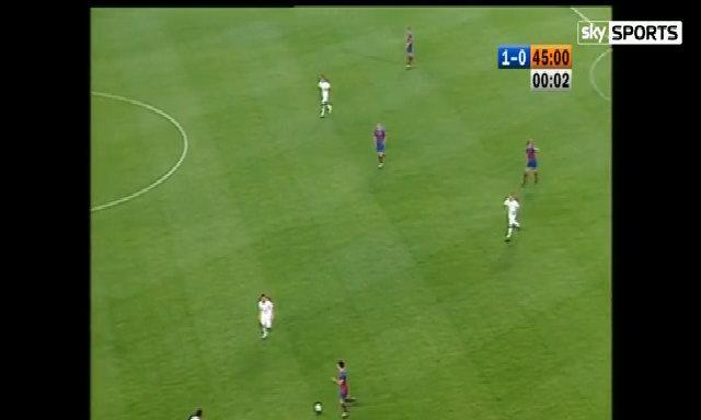 Messi ghi bàn thắng đầu tiên