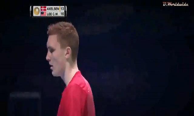 25 cú đánh của Axelsen