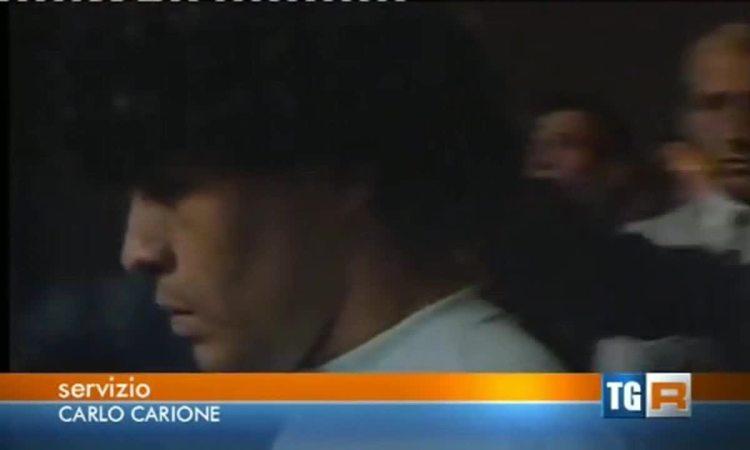 Maradona ra mắt ở Napoli ngày 5/7/1984
