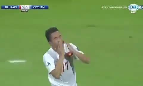 Bàn thắng của Trần Thành vào lưới Bahrain