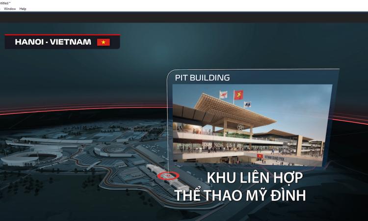 Video đua xe Công thức 1 ở Hà Nội