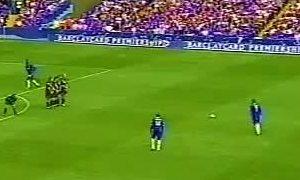Bàn thắng của Adrian Mutu vào lưới Leicester City