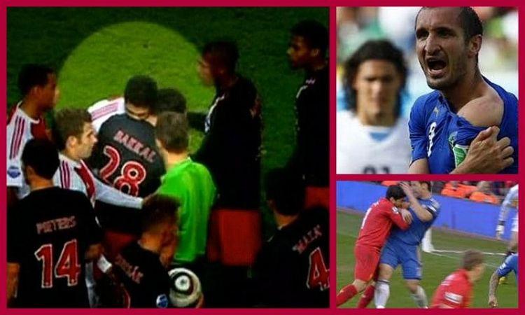 Ba cú cắn tai tiếng của Suarez