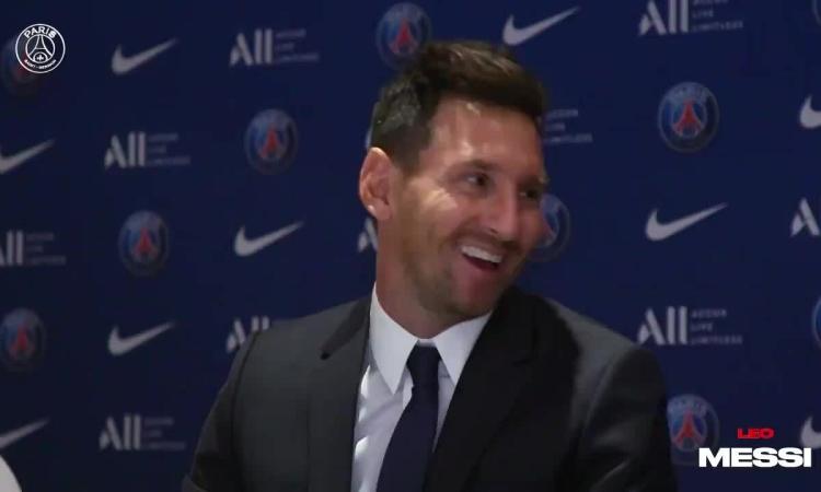 Ngày đầu của Messi ở PSG