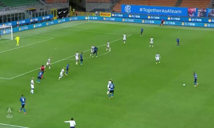 Những pha ghi bàn của Lukaku tại Inter ở mùa giải 2020-21